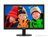 "Monitor 24"" Philips 243V5QSBA MVA LED V-Line, Full HD,VGA, DVI, Black"
