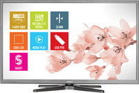 "HITACHI 40HXC46 40"" (102cm), SMART LED TV, (OPERA open browser, facebook, youtube, skype), Wifi ready, Titanium color, FullHD, Contrast 3.000.000 : 1, Resolution 1920x1080, MPEG4, DVB T/C, HDMI x2, USB x1, Scart x1, VGA(PC in) x1, Ethernet RJ-45 x1,"