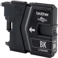 PTC BC-985/39BK, LC985/39BK, Black, (26ml), Ink Cartridge for Brother DCP J125, J315w, J515w, MFC J220, J265w, J410, J415w