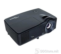 OPTOMA Projector DLP W311 Texas instruments, black color, Wide screen HD ready, 3200ANSi Lumens, 20000:1 contrast, WXGA (1280x800), built in speaker, 2x HDMI 1.4  VGA,
