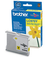 Brother Cartridge LC970Y Yellow (up to 300 pgs), for DCP-135C/150C/ MFC-235C/260C