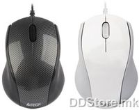 Mouse A4Tech N-100-1 Optical Wired USB