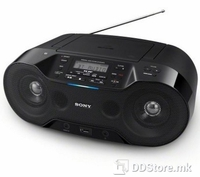 Portable Radio/CD Player Sony ZSR-S70BTB USB/BT/NFC Black