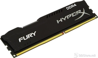 DIMM 4GB DDR4 2400MHz Kingston HyperX Fury Black CL15