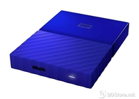 "HDD External 2.5"" 4TB USB 3.0 Western Digital MyPassport Blue w/ Hardware Encryption"