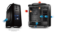 CoolerMaster Cosmos SE, Black , Transprent window version, COS-5000-KWN1