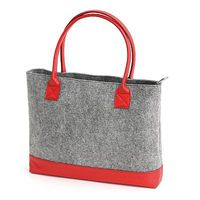 "Notebook Bag Platinet Felt 15.6"" Red"