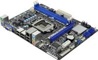 ®H61M-VS, LGA 1155, Intel H61, Dual Channel 2xDDR3 - 1333, 1 x PCI Express 2.0 x16 slot (blue @ x16 mode), 1 x PCI Express 2.0 x1 slot, 4 x SATA2 3.0 Gb/s connectors,  Intel® HD Graphics 2000/3000 Pixel Shader 4.1, DirectX 10.1, max. 1759MB (shared