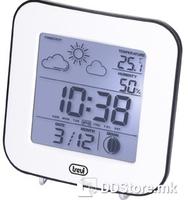 Meteo Station/Alarm clock Trevi ME 3106 White