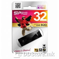 SILICON POWER Blaze B20 32GB USB 3.0 Black