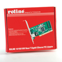 21.11.3043-5 ROLINE RA-1000T32 Gigabit Ethernet PCI Card