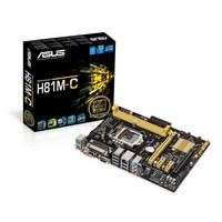 ASUS H81M-C, Socket: Intel® 1150, Chipset: Intel® H81, DDR3, 1600MHz