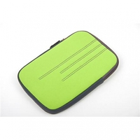 "Tablet Sleeve Platinet 7"" Anti-shock Bubble Florida Green"
