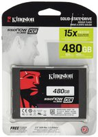 "Kingston Bulk 480GB SSD UV300 SATA3 2.5"" Bulk for System Assembling, SUV300S37A/480GBK"
