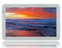 "Tablet PC Firefly B1500 White Quad Core 1.3 GHz/1GB/16GB/10.6"" HD 1366*768 IPS/BT/2xCam/2x3.5mm/A5.1"