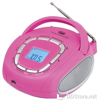 Trevi Portable Radio/MP3 Player KB 508 Pink
