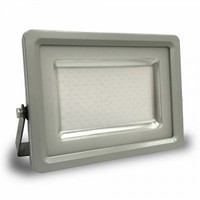 30W LED Floodlight V-TAC SLIM Black/Grey Body SMD 3000K IP65 2400 lm 120° - NEW SKU : 5706