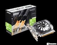 MSI GT 730 4GB DDR3, 128bit, VGA,DL DVI-I, HDMI, FANSink