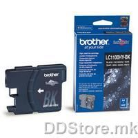 Brother Cartrige LC1100HYBK Black (crn - do 900 str.) for MFC5895CW/6490CW/DCP6690CW/6890CDW/MFCJ615W/DCPJ715W