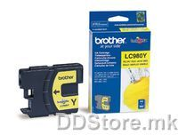 Brother Cartrige LC980Y Yellow (zolt - do 260 str.) for DCP-145C/165C/195C/365CN/375CW, MFC-250C/290C/295CN
