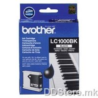 Brother Cartrige LC1000BK Black (do 500 str.) for DCP-130C/330C/540CN; MFC-240C/440CN/660CN; DCP-350C/560CN/770CW; MFC-465CN/680CN/885CW