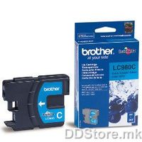 Brother Cartrige LC980C Cyan (sin - do 260 str.) for DCP-145C/165C/195C/365CN/375CW, MFC-250C/290C/295CN