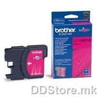 Brother Cartrige LC1100HYM Magenta (crven - do 750 str.) for MFC5895CW/6490CW/DCP6690CW/6890CDW/MFCJ615W/DCPJ715W