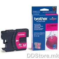Brother Cartrige LC980M Magenta (crven - do 260 str.) for DCP-145C/165C/195C/365CN/375CW, MFC-250C/290C/295CN