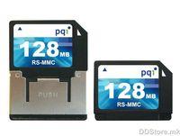 RS-MMC Card 128MB PQI
