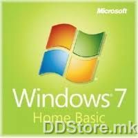Windows 7 Home Basic 64-bit English EM F2C-00615