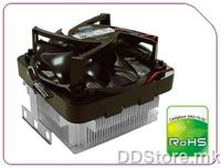 CoolerMaster X Dream K640 RR-KIF-L9E1-GP K8 Entry Level Cooler (Al. Base + Cu. Insert with Thermistor fan)