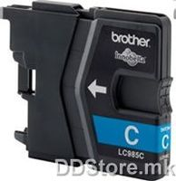Brother Cartrige LC985C Cyan (sin - do 260 str.) for DCPJ-125, DCPJ315W/DCPJ515W/MFCJ265W/MFCJ415W