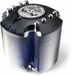 Asus Cooler Lion Square, Socket 3 in 1(775/754/939/AM2/AM2+), 16~28 dBA, 2,300 rpm ± 10%, Cu. Base + Al. Fins + 4 x 8 Heat pipes