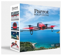 PARROT BEBOP DRONE RED PF722000