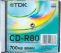 TDK CD-R80 JEWEL CASE