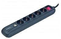 GEMBIRD SPG5-U-5 SURGE PROTECTOR USB 1.5