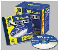 TRAXDATA CD-R 8CM 24X SLIM JC