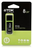 TDK USB 2.0 8GB TF10 BLACK