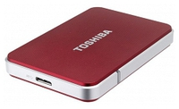 TOSHIBA STORE EDITION 500GB RED USB 3.0