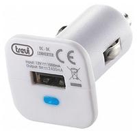 TREVI TC 122 01 USB CAR CHARGER WHITE