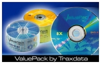 TRAXDATA DVD+R 16X SP25 VALUEPACK