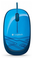 LOGITECH M105 MOUSE BLUE 910-003105