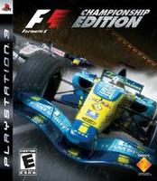 SONY PS3 FORMULA ONE CHAMPIONSHIP