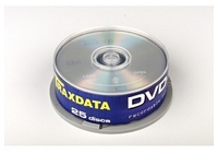 TRAXDATA DVD-R47G 8X 25CAKE G05