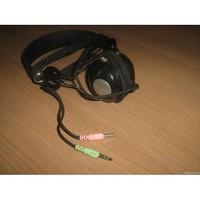 Ucom UC-8878 Headphones with microphone 3.5mm Plug, PVC