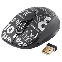 A4-G7CR-60B Chat Room - Black - 2.4GHz Ultra Far Wireless Optical Mouse