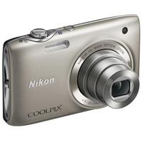 NIKON S3100 Дигитален фотоапарат Сребрен СET