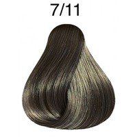 wella koleston perfect medium blonde ash intensive 7/11 (60ml)