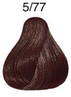 wella koleston perfect light brown brown intensive 5/77 (60ml)