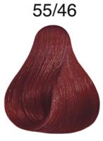 wella koleston perfect light brown intensive red-violet 55/46 (6